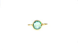 Green Quartz Ring