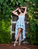 Blue Blossom Summer dress