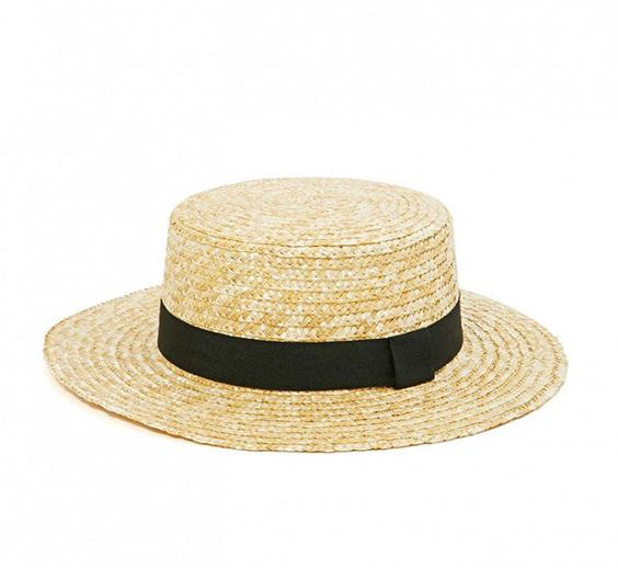Venice Boater Hat