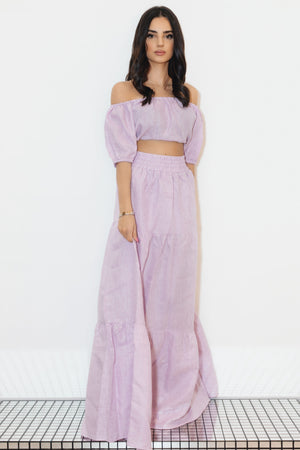 Formenta Set Skirt/top Lilac