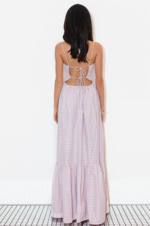 Open Back Maxi Trio Lilac