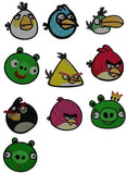 Angry Birds Machine Embroidery Designs Instant Download