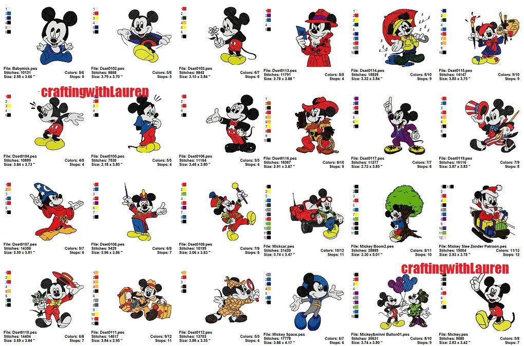 Mickey Mouse Disney Embroidery Designs Characters Collection Cartoon Characters Machine Embroidery Designs,Certificate Appreciation Certificate Template Blank Certificate Design Background Hd