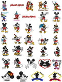 MICKEY MINNIE & DISNEY CARTOON CHARACTERS MACHINE EMBROIDERY DESIGNS