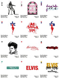 BEST OF ELVIS  EMBROIDERY MACHINE DESIGNS HUGE SET OF 100++