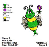 Buggie Wuggies CARTOON CHARACTERS  EMBROIDERY MACHINE DESIGNS