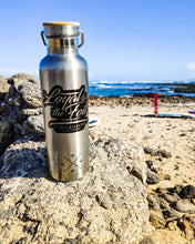 Load image into Gallery viewer, #Loyal To The Foil 'Plastic Sucks' - Stainless Steel Water Bottle + T-Shirt Combo - FREE LANYARD INCLUDED!