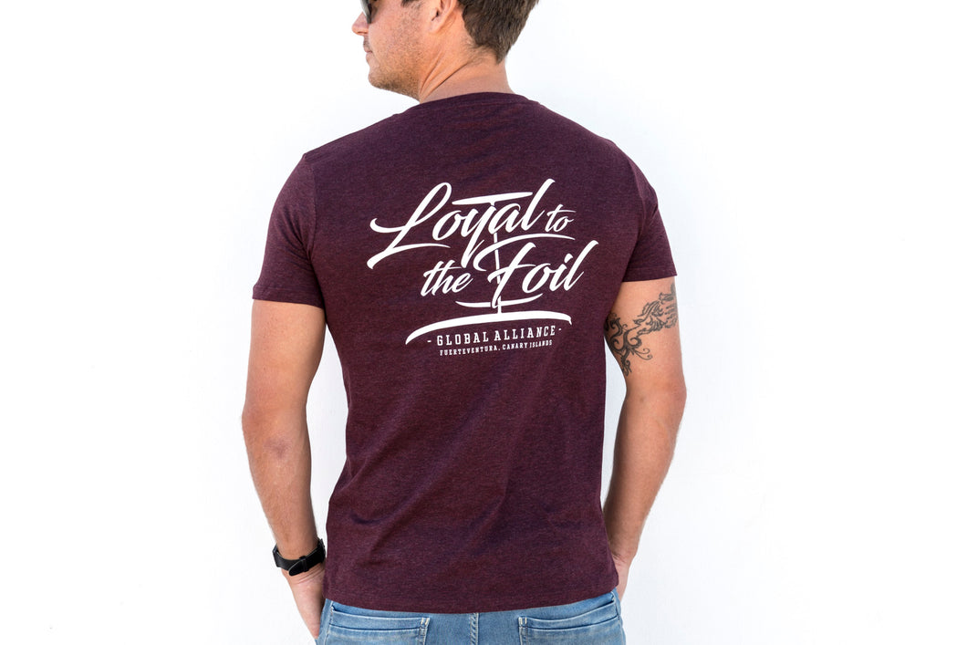 Loyal To The Foil 'X' / Script T-Shirt