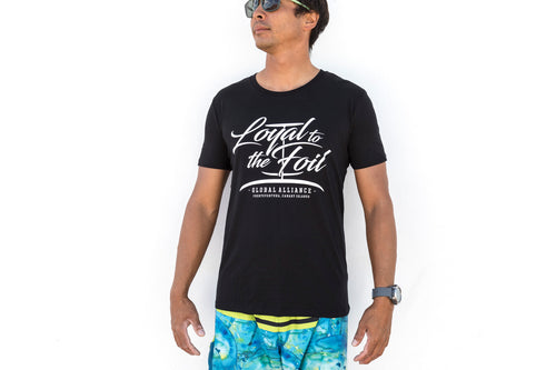 Loyal To The Foil T-Shirt - Script Logo