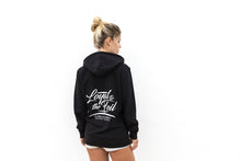 Load image into Gallery viewer, Zip Hoodie 'Loyal To The Foil' - Black - FREE MERCH INCLUDED!