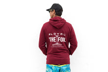 Load image into Gallery viewer, Zip Hoodie 'Loyal To The Foil' - Burgundy - FREE MERCH INCLUDED!