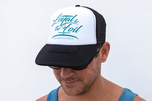 Loyal To The Foil Trucker Snapback Cap - Script Logo Emerald