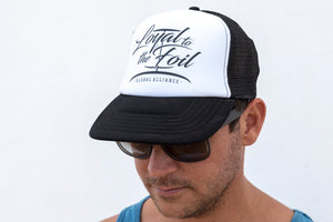 Loyal To The Foil Trucker Cap - Script Logo