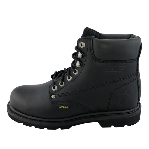 602 STEEL-TOE Black