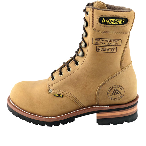 904 STEEL-TOE LOGGER Brown