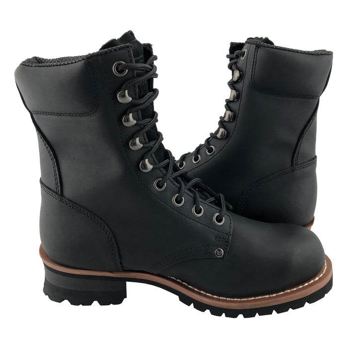 902 STEEL-TOE LOGGER Black