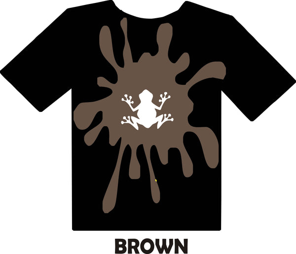 Brown - Heat Transfer Vinyl Sheets