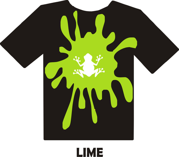 Lime Green - Heat Transfer Vinyl Sheets