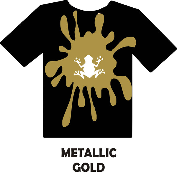 Metallic Gold - Heat Transfer Vinyl Sheets