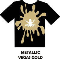 Metallic Vegas Gold - Heat Transfer Vinyl Sheets