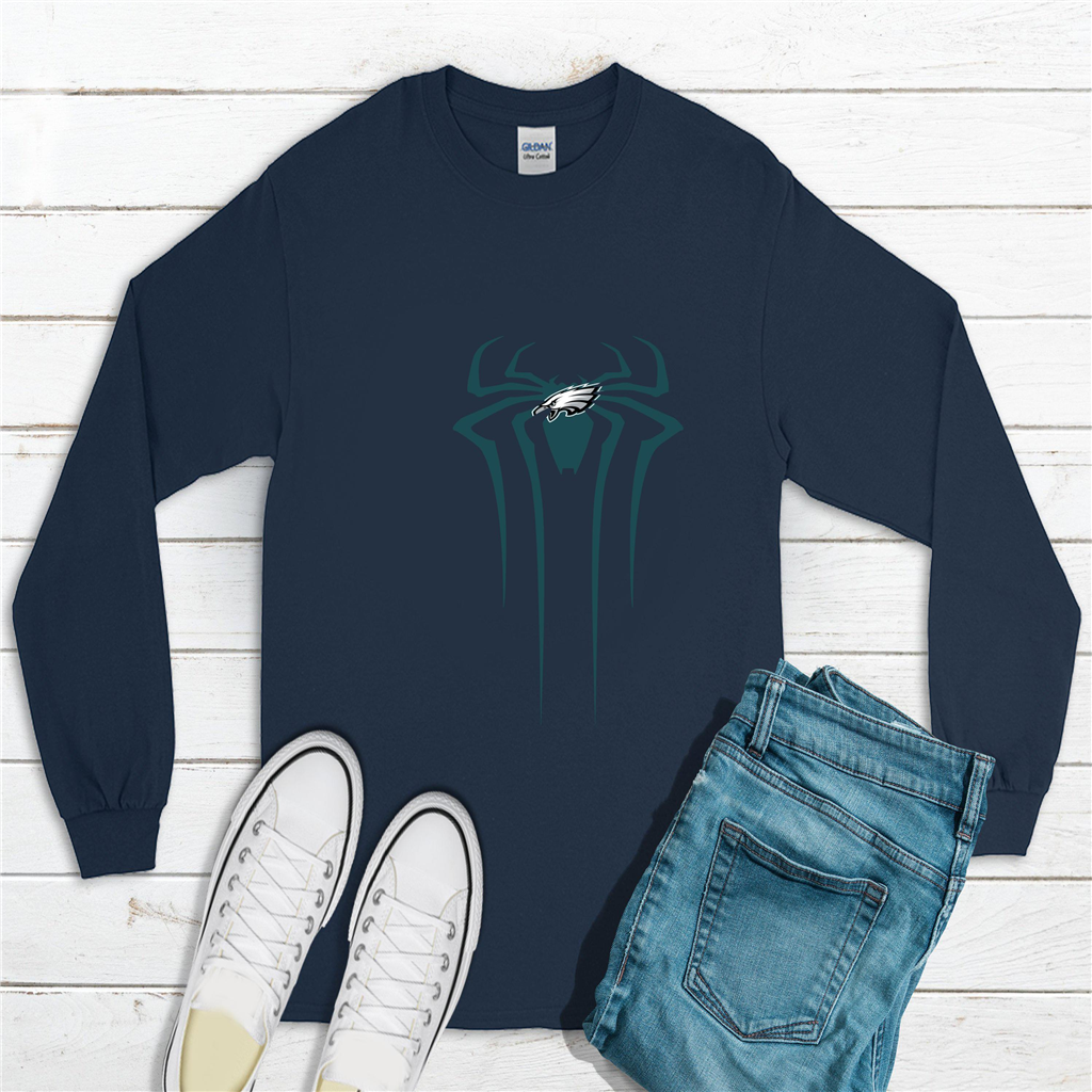 super popular 78a8a 791c3 Nfl - Spiderman - Philadelphia Eagles - shirt - Home | Buy More Love Love