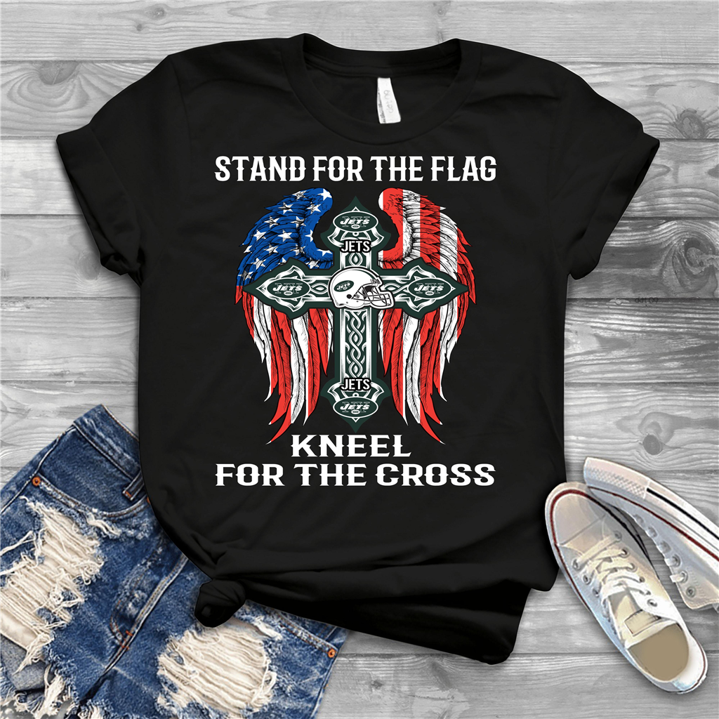 low priced ba094 0b8b8 Nfl - Stand For Flag - New York Jets - shirt