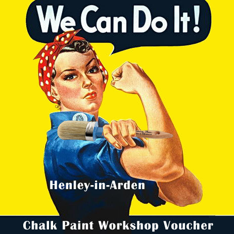 Sat 11th May Chalk Paint Essential Techniques - HENLEY