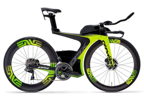 typical triatholon bike