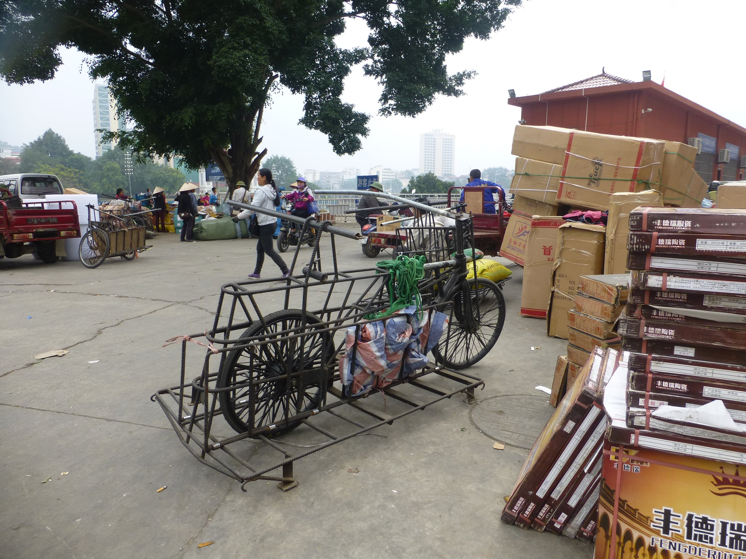 chinese cargo bicycle