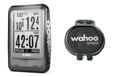 Wahoo ELEMNT Mini GPS Bike Computer + Speed Sensor Bundle