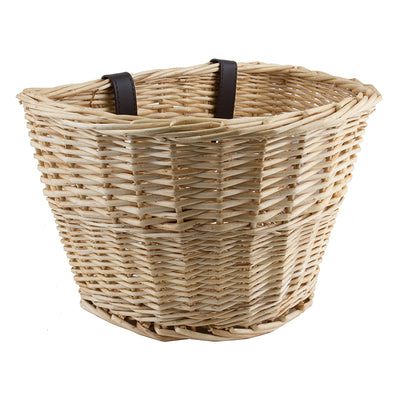 Classic Willow Bicycle Basket