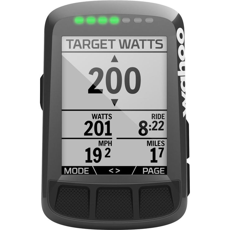 Wahoo ELEMNT Bolt Stealth GPS Bike Computer Bundle