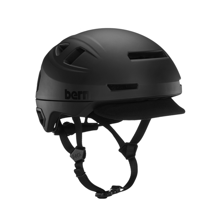 Hudson Unisex Bicycle Helmet + LED Light