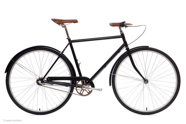 Elliston 3-Speed with Rear Rack