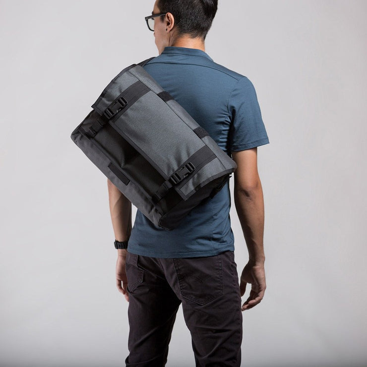 Monty Grey 21L Messenger Bag