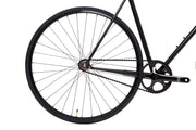 49cm 4130 Matte Black 6 Single Speed