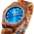 Men's Personalized Ambila Wood Watches - Men - Accessories - Watches - Uncle Whiskey - Uncle Whiskey