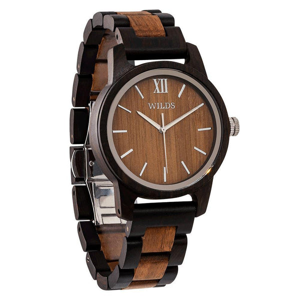 Men's Handcrafted Walnut Wooden Timepiece - Men - Accessories - Watches - Uncle Whiskey - Uncle Whiskey