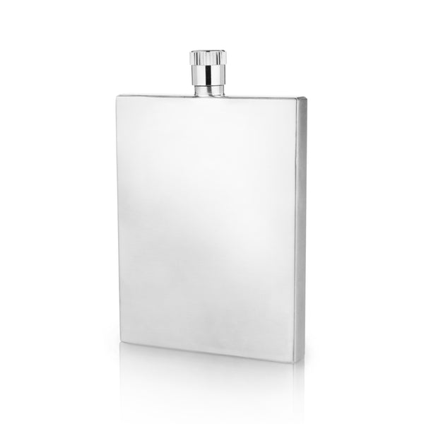 Harrison Stainless Steel Slim Flask - Flasks - Uncle Whiskey - Uncle Whiskey