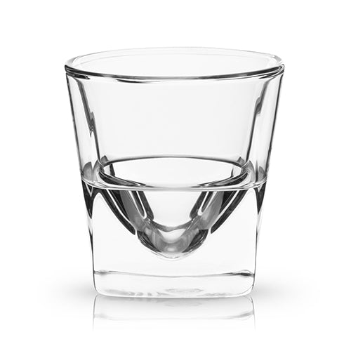 Glacier: Double Walled Chilling Whiskey Glass - Glassware - Uncle Whiskey - Uncle Whiskey