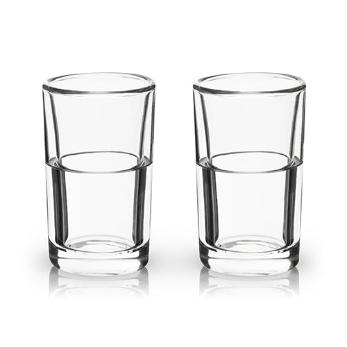 Glacier: Double Walled Chilling Shot Glasses - Shot Glasses - Uncle Whiskey - Uncle Whiskey