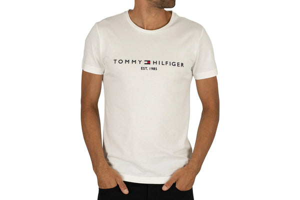 Men's White Modern Essentials Crew Tee