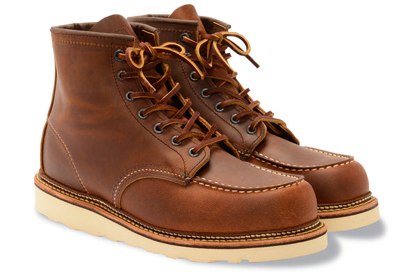 1907 Heritage Classic 6 Inch Moc Toe Boot