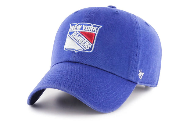 Clean Up New York Rangers Royal Blue Adjustable Cap