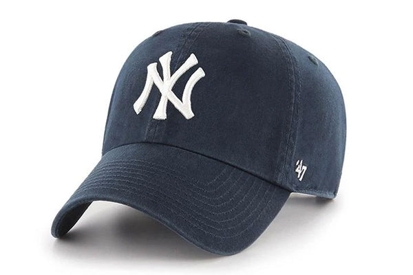 Clean Up New York Yankees Basic Logo Home Adjustable Cap