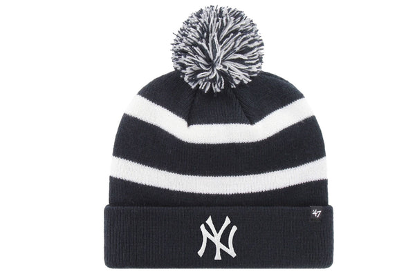 New York Yankees Breakaway Cuff Knit with Pom