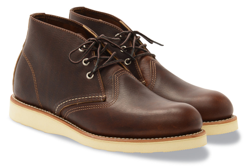 3141 Heritage Leather Classic Work Chukka Boot