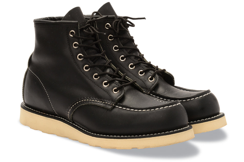 9075 Heritage Leather Classic Work 6 Inch Moc Toe Boot