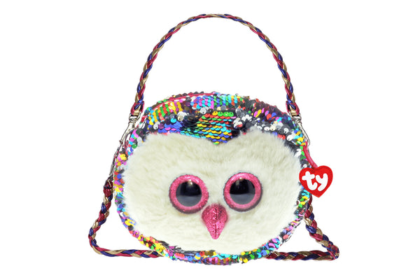 Owen Reversible Sequin Owl Purse
