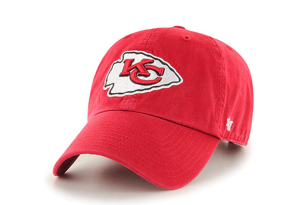 Clean Up NFL Kansas City Chiefs Red Adjustable Cap